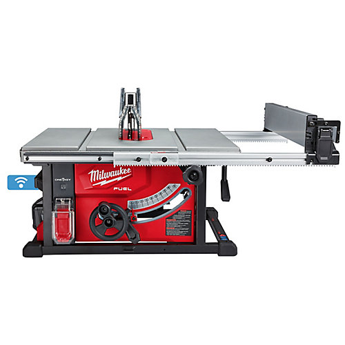M18 FUEL ONE-KEY 18V Lithium-Ion Brushless Cordless 8-1/4-inch Table Saw Kit w/ 12.0Ah Battery