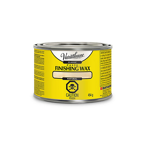 Classic Paste Finishing Wax In Natural, 450 G