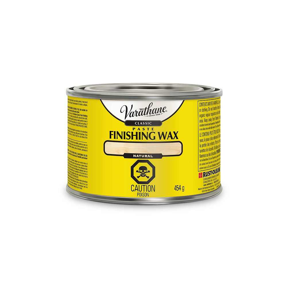 Varathane Classic Classic Paste Finishing Wax In Natural, 450 G