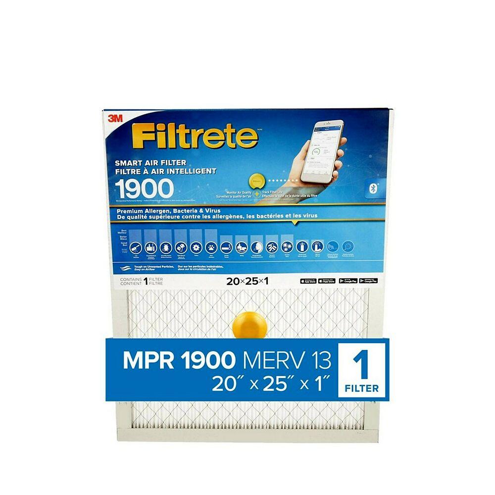 Filtrete Filters Max Smart Filter 20x25x1