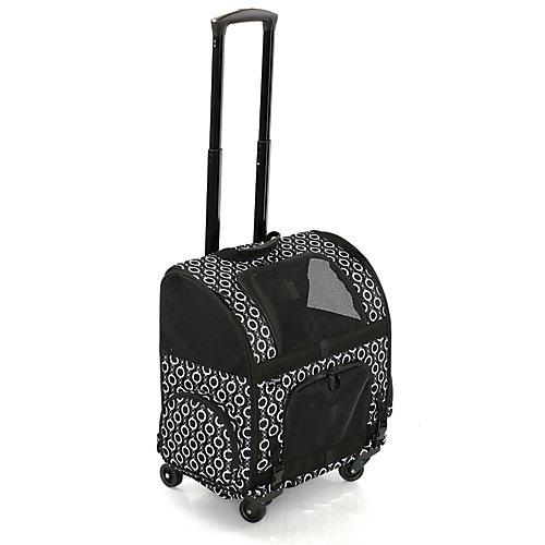 Sac de transport à roulettes pour animal domestique RC2000 Roller-Carrier Motif à maillons