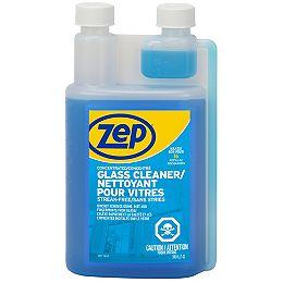 Concentré de nettoyant pour vitres