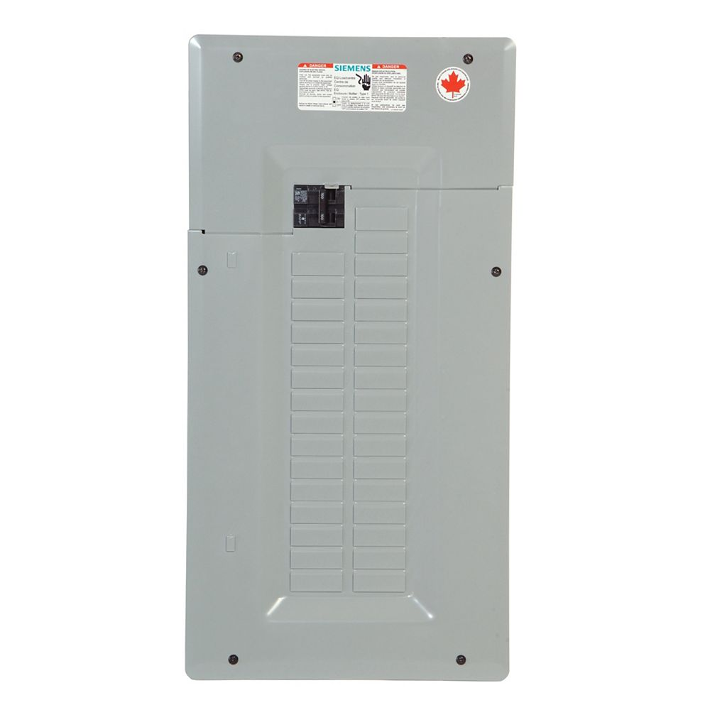 Siemens Service Entrance Loadcentre 100A with Main Breaker 32 Circuits Expandable to 64