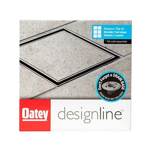 6 X 6 Square Drain Tile-In Grate