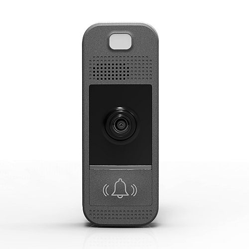 Wifi-Enabled Video Doorbell in Slate Grey
