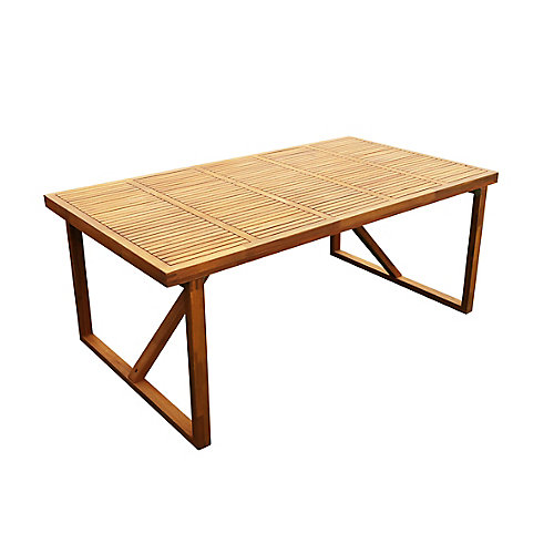 180 cm (71 inch x 39 inch) Table Alone
