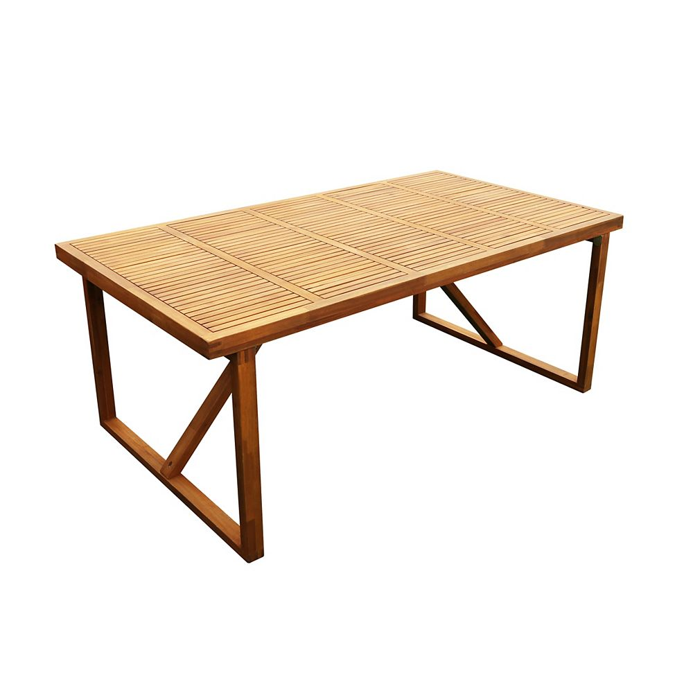 Stockholm 180 cm (71 inch x 39 inch) Table Alone