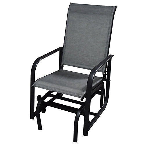 One-Seat Patio Sling Glider