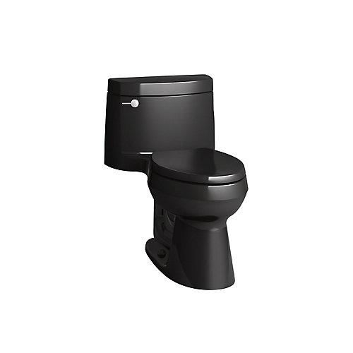 Cimarron 1-Piece 1.28 Gpf Elongated Toilet In Black Black