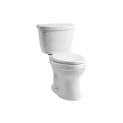 Cimarron Comfort Height The Complete Solution® Elongated 1.28 Gpf Toilet, White