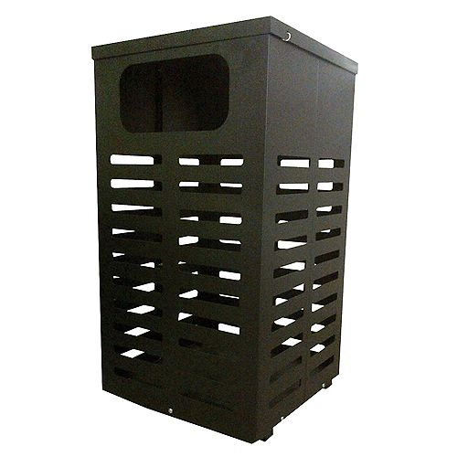 34 Gal. Trash and Litter Receptacle