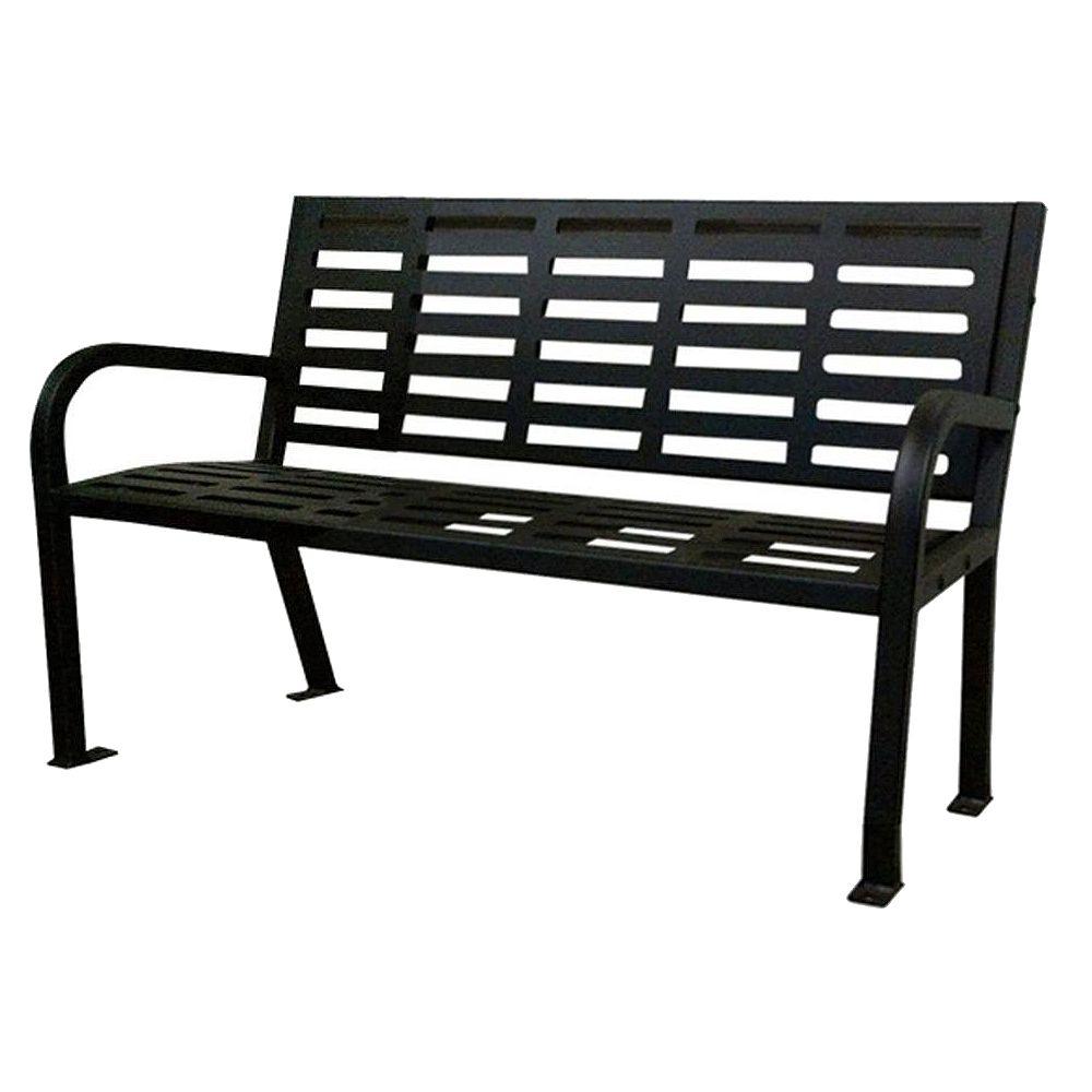 Lasting Impressions 4 ft. Park Bench