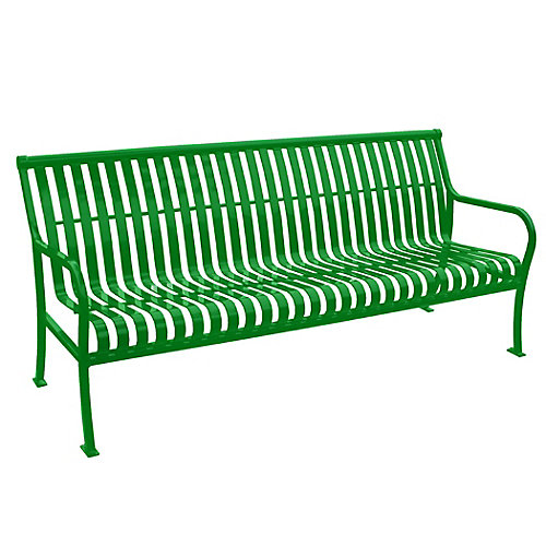 6 ft. Light Green Premier Bench