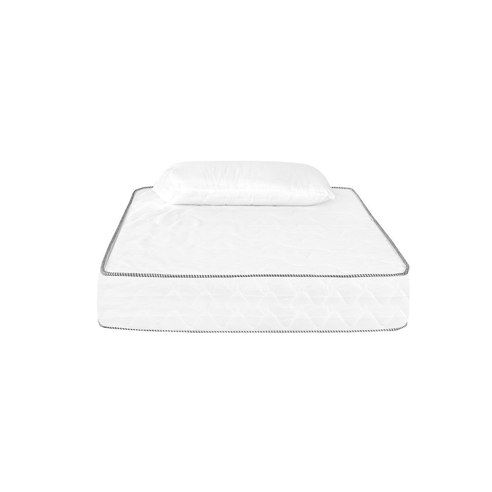 NUBE Twin-Size 6-inch Thick Foam Mattress with Pillow