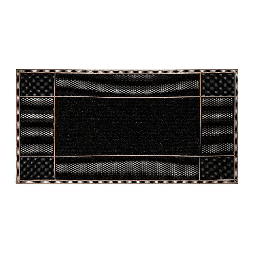 Floor Choice Runway 23-inch x 46-inch Brown Door Mat