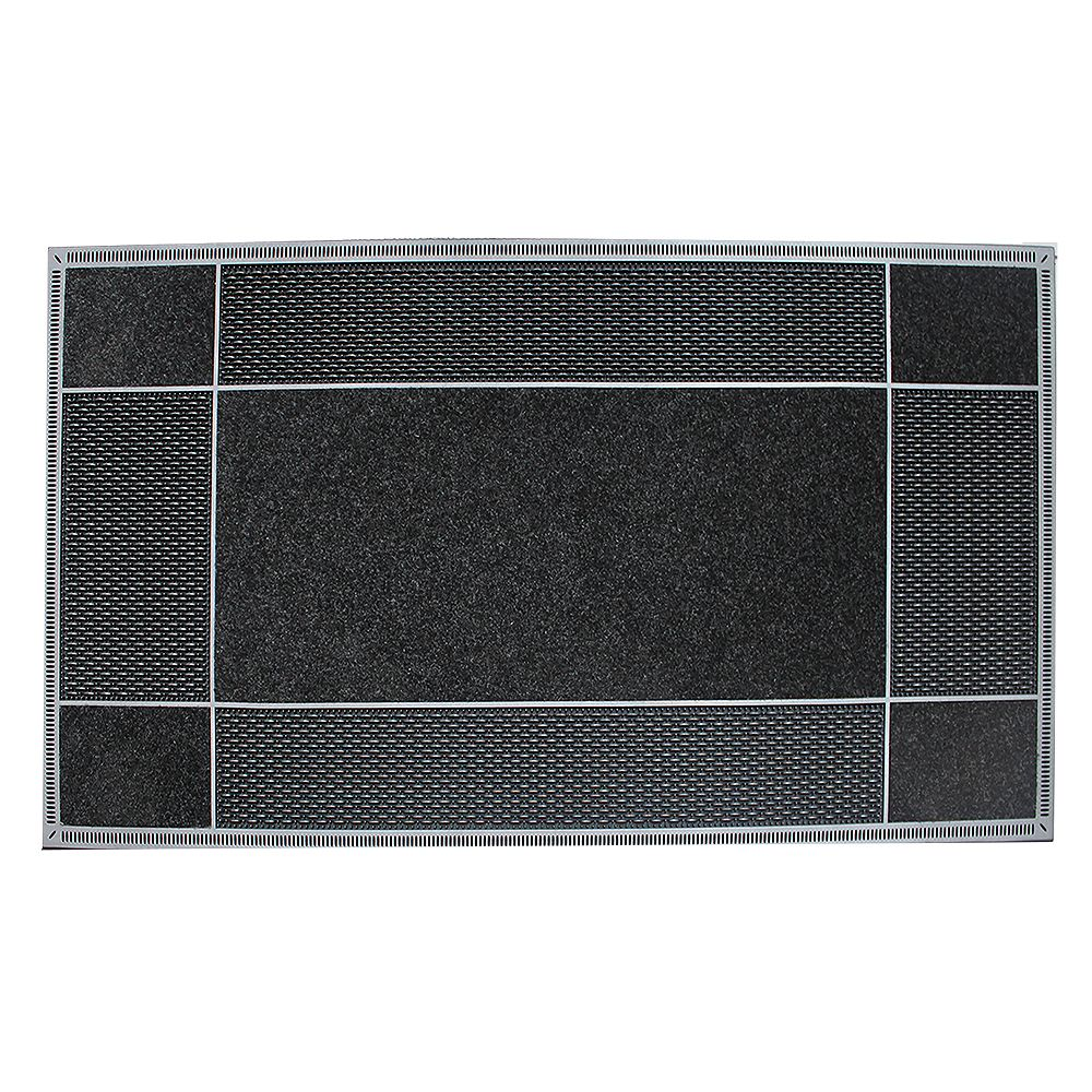 Floor Choice Runway Black 23-inch x 46-inch Door Mat