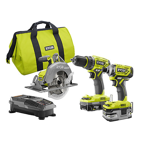18V ONE+ Brushless Cordless Combo Kit (3-Tool) with 3.0Ah Battery
