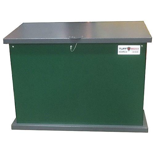 Conteneur à déchets et d'entreposage à l'épreuve des animaux KIT, vert/graphite