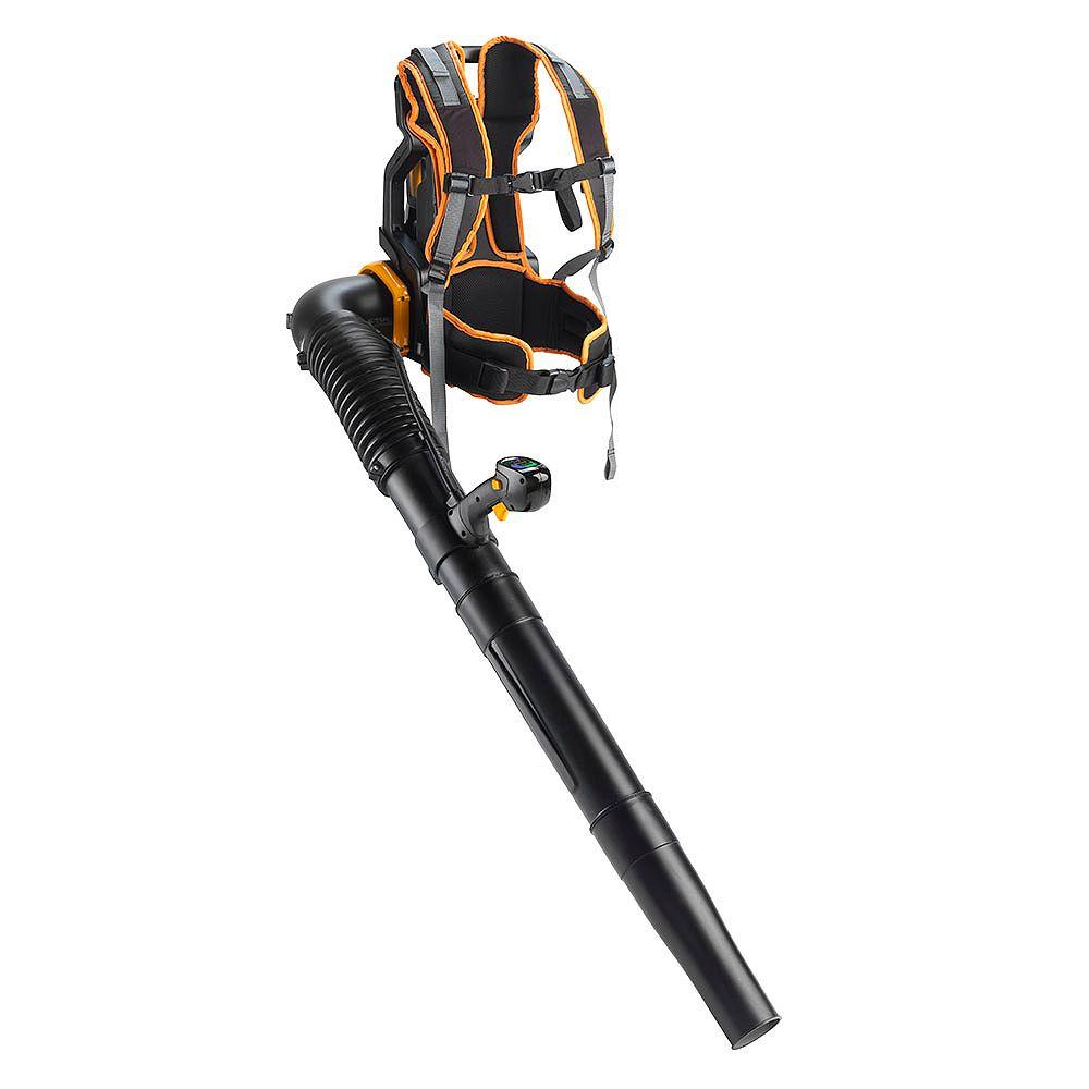 Poulan Pro 58V Cordless Backpack Leaf Blower, PRBP675i