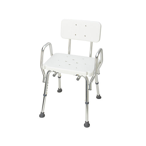 Heavy Duty Bath and Shower Chair with Backrest