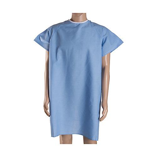 Robe de convalescence DMI avec attaches arrière en ruban