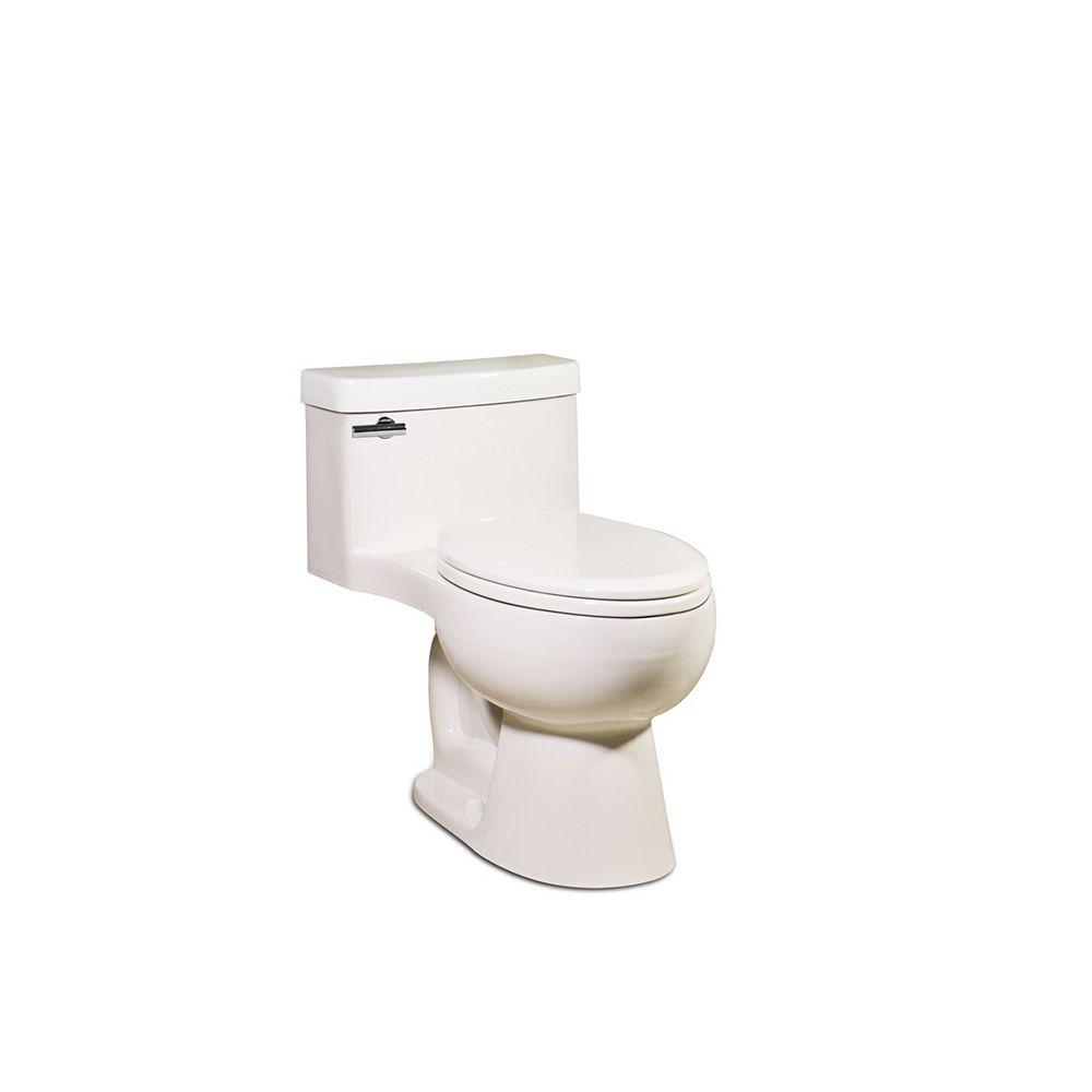 Icera / St Thomas Creations The Malibu 1-Piece Toilet Round Bowl Shape (In Balsa)