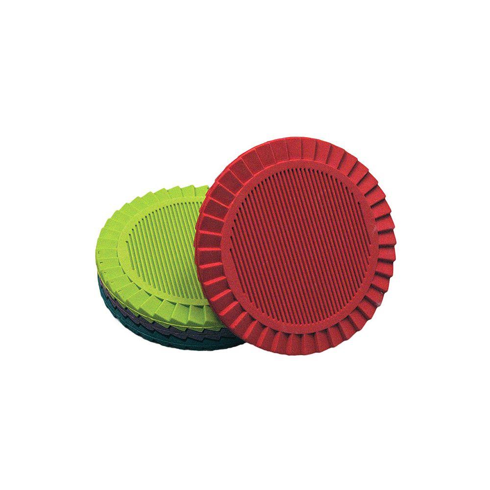 Counseltron 4-Piece Rubber Coasters Set