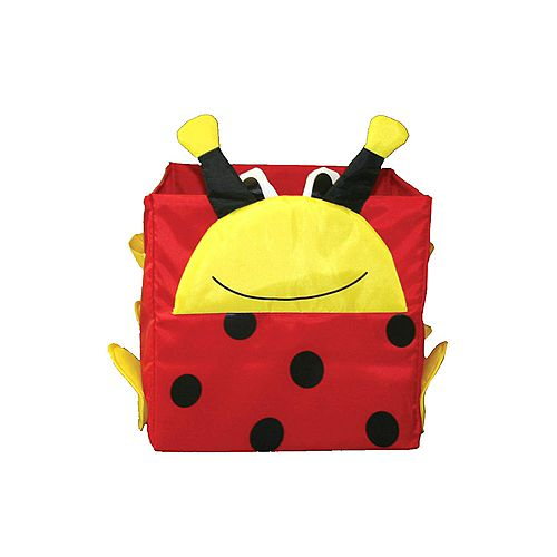 Toy Storage Cube, Lady Bug