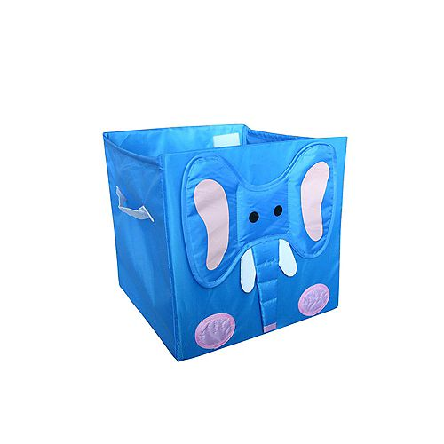 Toy Storage Cube, Elephant