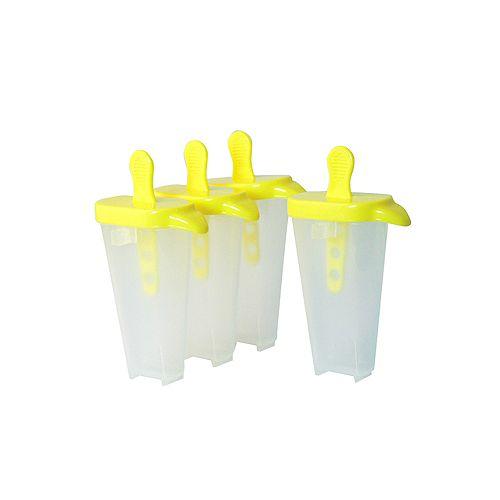 Popsicle Moulds , (Set of 4)