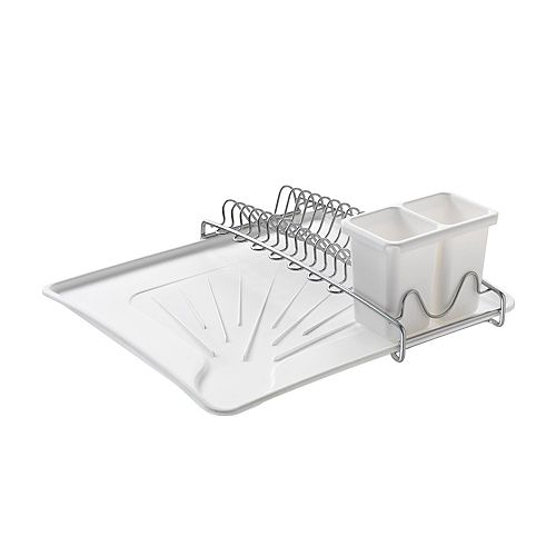 Metaltex Spacetex Compact Dish Drainer