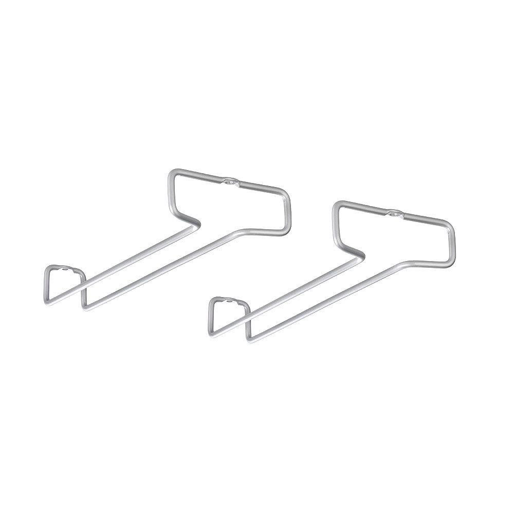 Metaltex Rail 26 Wine Glass Rails (Set of 2)