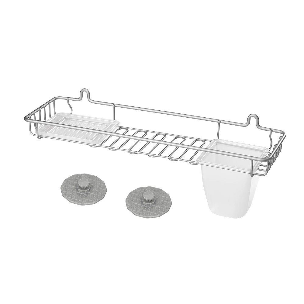 Metaltex Artic Large Shelf And Soap Holder