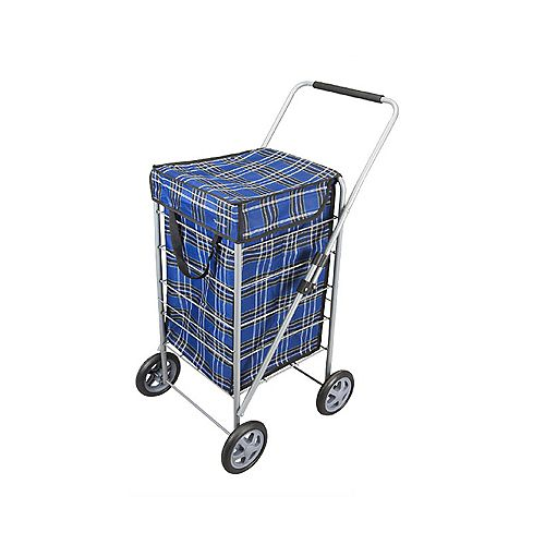Explorer Shop Cart Blue