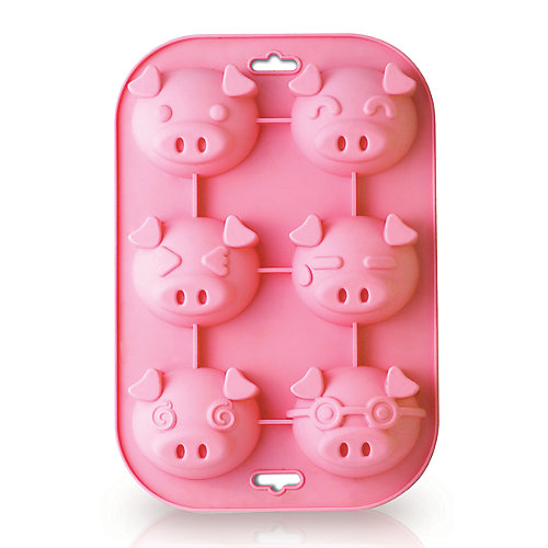 Piggy 6 Cup Muffin Mold
