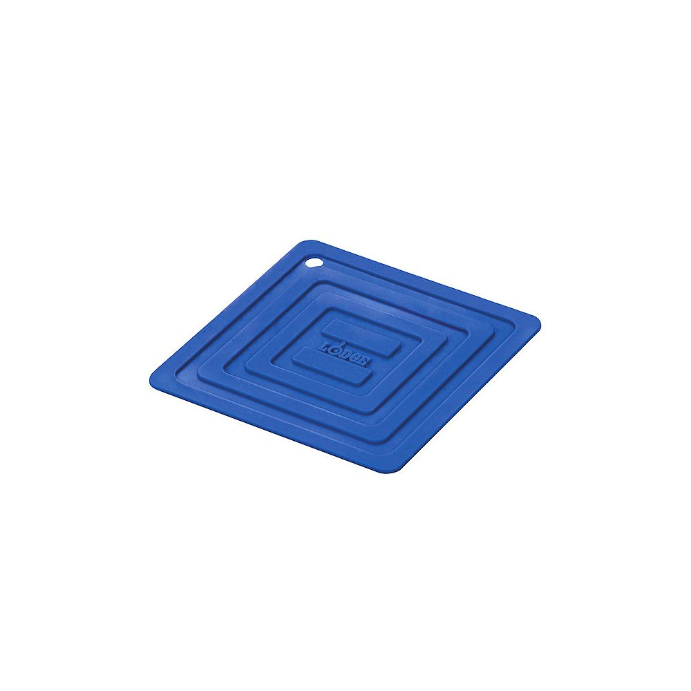 Lodge Silicone Pot Holder, Blue