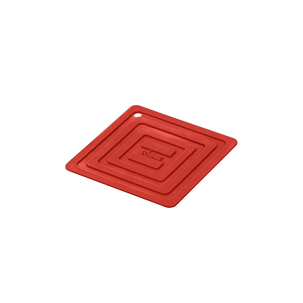 Lodge Silicone Pot Holder, Red
