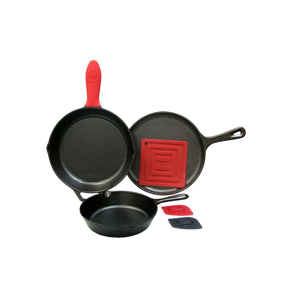 Lodge 6-Piece Essential Pan Set