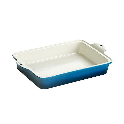 Stoneware Baking Dish 13X9 inch Blue
