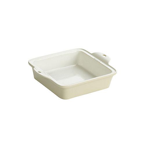 Stoneware Baking Dish 8X8 inch White