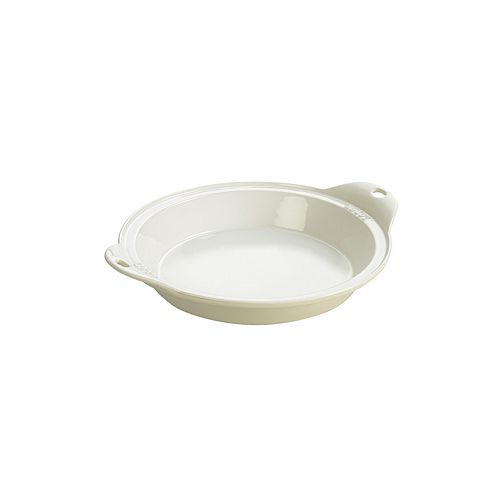 Plat de cuisson en grès Lodge 9,5 po blanc