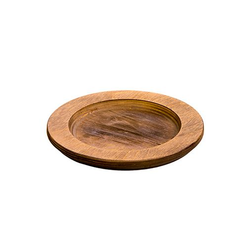 Round Wood Underliner, Walnut