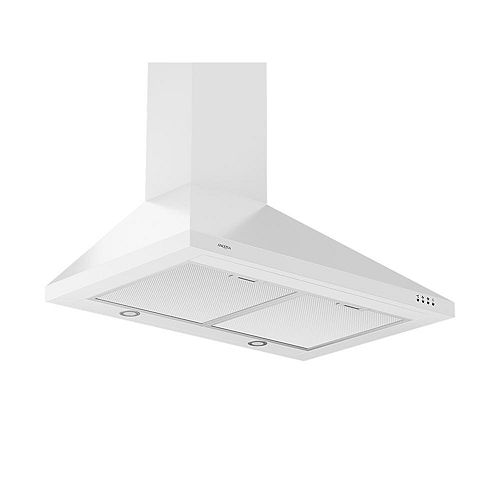 WPPW 430 30 inch Wall-Mounted Convertible Range Hood in White