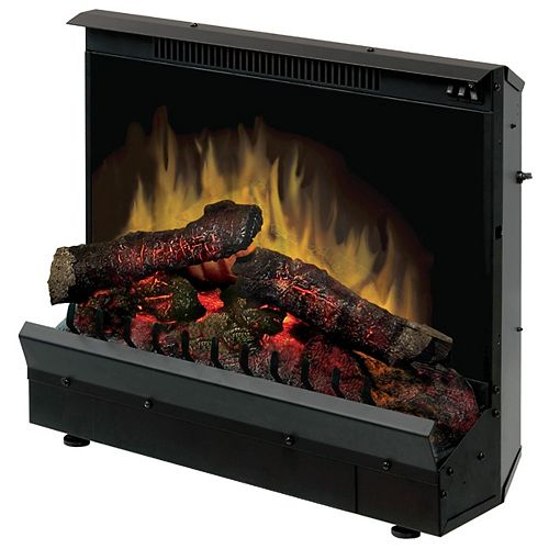 Firebox 23 inch Insert with Led Log Set, On/Off Remote Control