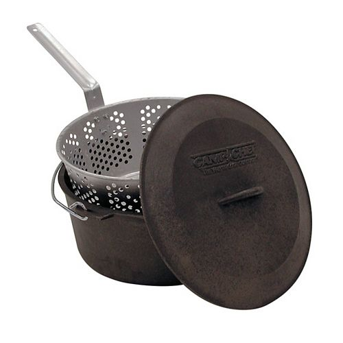 Camp Chef Cast Iron Fry Pot Set