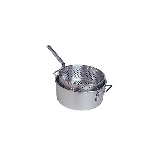 10L (10.5 Qt.) Aluminum Fry Pot Set