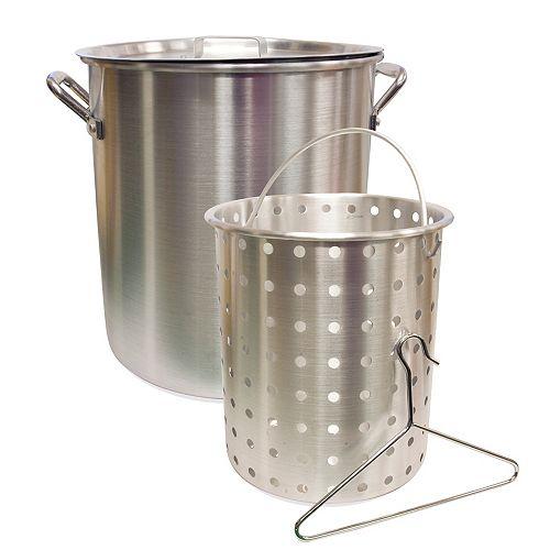 Chaudron, 22 L (24 pte), aluminium