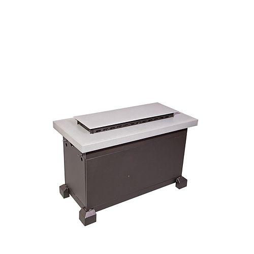 Gray Monterey Propane Fire Table
