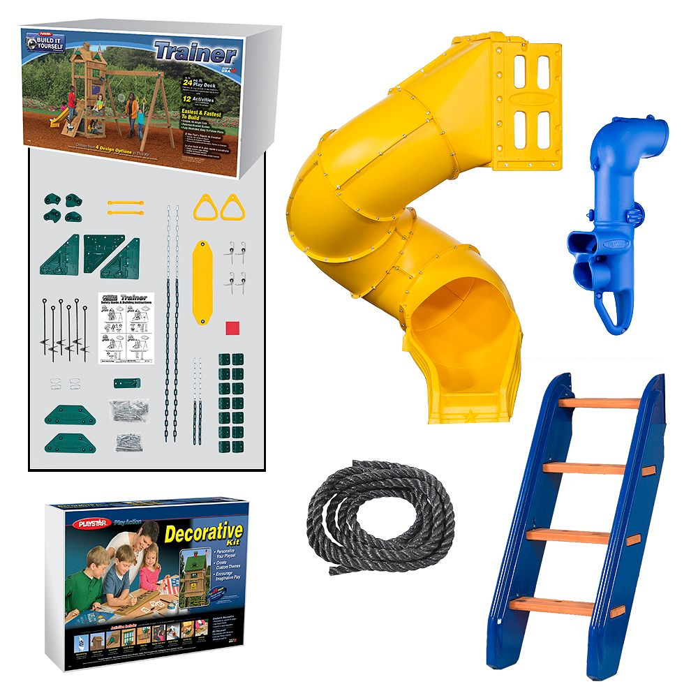 Playstar Trainer Build It Yourself Gold Play Set