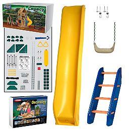Kit d'aire de jeu prête-à-assembler Legacy Bronze